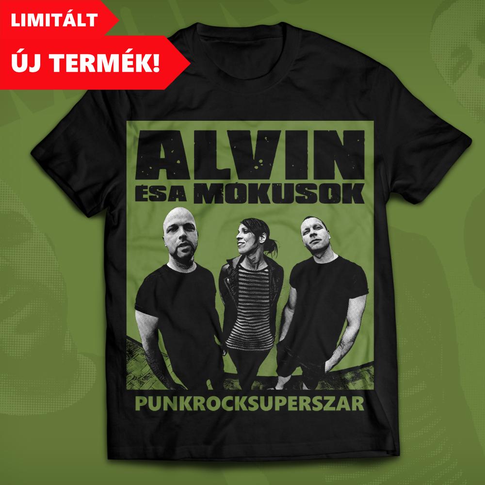 990 Ft Részletek  PunkRockSuperSzar (férfi póló) 3740e67ff8