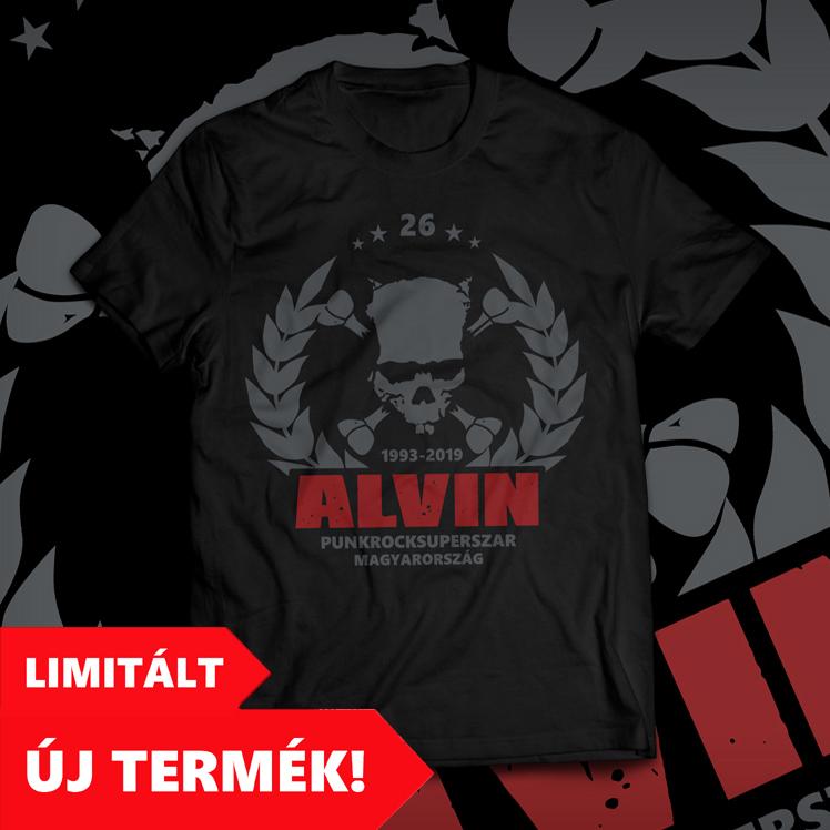 ALVIN 26 PÓLÓ (férfi póló) - fekete ab71ba0e01